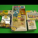 Minions Party!  Opening Minions Surprise Blind Box Blind Bags Mega Bloks Toys!