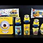 Minios Surprises Eggs Play Doh Shopkins Zootopia  Minions candies Chocolate egg surprises toys