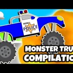 MONSTER TRUCK Finger Family & More! MONSTER TRUCK COLLECTION | Surprise Eggs Learning Video For Kids