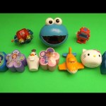Monsters University Surprise Egg Learn-A-Word! Spelling Bathroom Words! Lesson 5