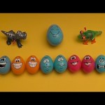 Monster's University Surprise Egg Learn-A-Word! Spelling Zoo Animals! Lesson 12