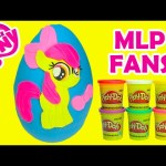 My Little Pony Apple Bloom Play Doh Surprise Egg Cutie Mark Crusader