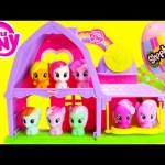 My Little Pony Applejack and Pinkie Pie Activity Barn with Shopkins Season 4