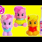 My Little Pony Brushing Teeth with Pinkie Pie, Starsong, and Applejack