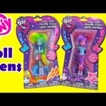 My Little Pony Doll Pens Rainbow Dash and Twilight Sparkle