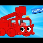 My Red Fire truck + 1 hour kids videos compilation – My Magic Pet Morphle