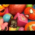 NEW Huge 101 Surprise Egg Opening Kinder Surprise Elmo Disney Pixar Cars Mickey Minnie Mouse