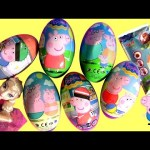 New Peppa Pig Surprise Eggs + Clay Buddies Blind Bags Nickelodeon Huevos Sorpresa