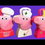 Nurse Peppa Pig Medical Case ❤ Chef Peppa Pig Cooking Carry Case Surprise – Maletín de Enfermera
