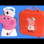 Nurse Peppa Pig Medical Case – Play Doh Maletín de Enfermera y Doctora PlayDough de Enfermería