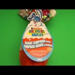 Opening a HUGE GIANT JUMBO MAXI Kinder Surprise Egg!