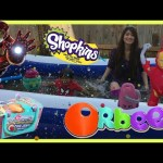 ORBEEZ POOL PARTY EGG SURPRISE TOYS in 1,000,000 ORBEEZ Shopkins Balloon Water fight Ryan ToysReview