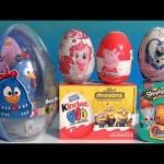 Ovetti Sorpresa Galinha Pintadinha, Shopkins Minions Kinder Peppa Pig, MyLittlePony Disney Collector