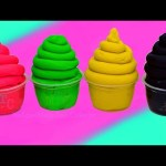 Play Doh Ice Cream Hotel Transylvania Surprise video for kids inside out Frozen