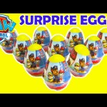 Paw Patrol Chocolate Surprise Eggs