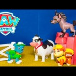 PAW PATROL Nickelodeon Paw Patrol Rocky and the Cow Paw Patrol Video Toys Unboxing