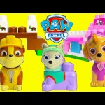 Paw Patrol Rubble Turtle Rescue, Katie's Pet Parlor and Monkey Trouble Skye