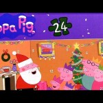 Peppa Pig Advent Puzzle Surprise ❤ 25 Days to Christmas with Disney Princess Anna Elsa Frozen