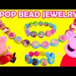 Peppa Pig Pop Bead Jewelry Kit with Surprises