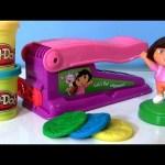 Play Doh Dora the Explorer Fun Factory Machine Dough Maker Nickelodeon Fabrica Loca – Le Serpentin