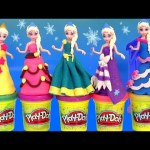 Play Doh Elsa Flip 'N Switch Castle MagiClip Disney Frozen NEW PlayDough Sparkle Magic Clip