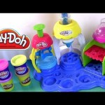 Play Doh Frosting Fun Bakery Set Sweet Shoppe Bake Cupcakes Play-Doh Doceria Mágica playdough Hasbro