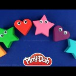 Play Doh Hearts & Stars Surprise Toys Mickey Mouse Pikachu from Pokémon, Piglet from Winnie the Pooh