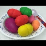 Play Doh Ice Cream Surprise Eggs, Mickey Mouse, Donald Duck Minnie Mouse Daisy Duck Pluto Goofy Toys