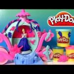 Play Doh Magical Carriage Disney Princess Cinderella | Play Doh Brillante con Glitter Carroza Mágica