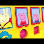 Play Doh Peppa Pig School Bus Pop-up Surprise – Ônibus Escolar Levando Pig George pra Escola