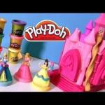 Play Doh Sparkle Prettiest Princess Castle – Play Doh Brillante Glitter Castillo Princesa Cenicienta