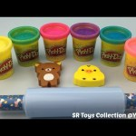 Play Doh Sparkle with Teddy Bear Mold Fun and Creative for Kids