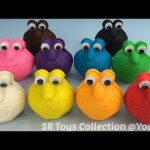 Play Dough Elmo with Animal Molds Fun and Creative for Children