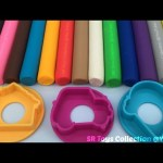 Play Dough Modelling Clay with Ice Cream and Car Molds Fun Creative for Children