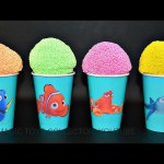 Play foam ice cream FINDING DORY Surprises toys Shopkins 5 Angry Birds Littles pet shop Bling Bags