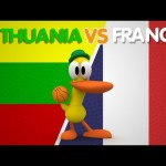 Pocoyo Basketball Worldcup: THIRD PLACE LITHUANIA vs FRANCE