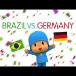 Pocoyo World Cup 2014: Brazil Vs Germany (Semi-finals)