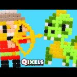 Qixels Medieval Kit – Pixel Cube Toy Character Creator New DCTC Toy Review 2016