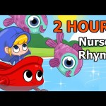 Row Row Row Your Boat ( + Many More Nursery Rhymes ) 2 Hour Baby TV –  By My Magic Pet Morphle