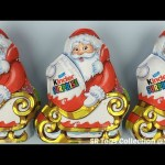 Santa Claus Kinder Chocolate Surprise Eggs Christmas Edition