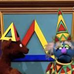 Sesame Street #4144 – The Triangle Lover of the Day