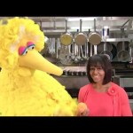 Sesame Street: First Lady Michelle Obama and Big Bird Team Up to Help Get Kids Healthy