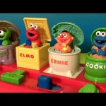 Sesame Street Singing Pop-Up Pals Cookie Monster Sings C is for Cookie + Elmo's World Song + Oscar