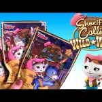 Sheriff Callies's Wild West Blind Bags Surprise Toys Unboxing Review by Disneycollector