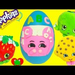 Shopkins Fluffy Baby Nappy Dee Play Doh Surprise Egg and NEW Shopkins Plushies