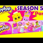 Shopkins SEASON 5 Mega Pack Part 2 of 3 Toy Genie