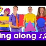 Sing along Shapes Song – with lyrics (featuring Debbie Doo)