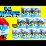 Smurf Mash'ems Includes Papa Smurf, Smurfette, Grouchy, and Clumsy