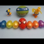 Spider-Man Surprise Egg Learn-A-Word! Spelling Party Words! Lesson 1