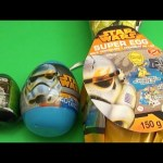 Star Wars Surprise Eggs Learn Sizes from Smallest to Biggest!